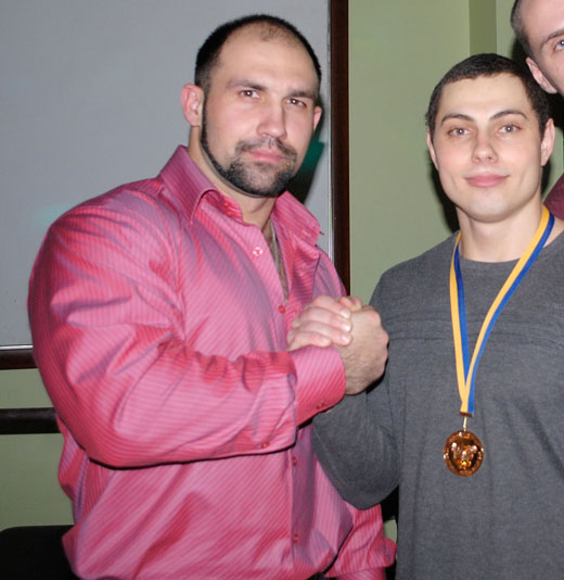 Дмитрий Гаврих( 2е место до 80) и Олег Базилевич.