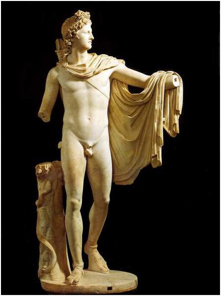 statue-of-Apollo-Belvedere(2)