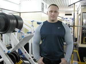 Сергей Попов после сушки.