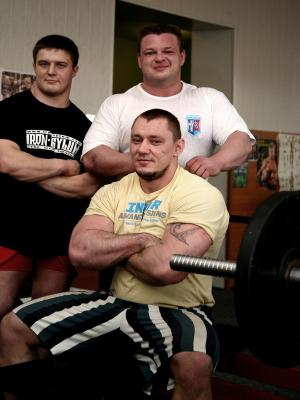 Александр Кутчер, Виталий Пономаренко и Виталий Бобченко
