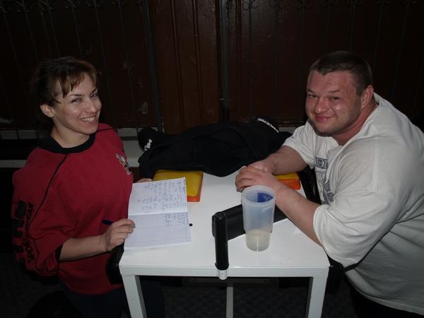 Людмила Бобченко и Виталий Пономаренко
