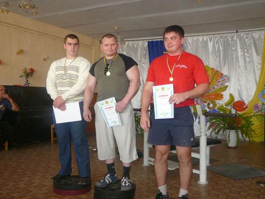 Чемпионат Кривого Рога по жиму лежа среди спортивных клубов