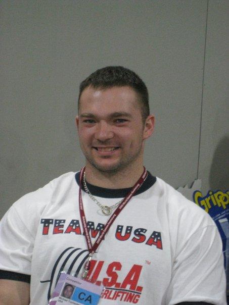 Американский пауэрлифтер Mike Tuchscherer