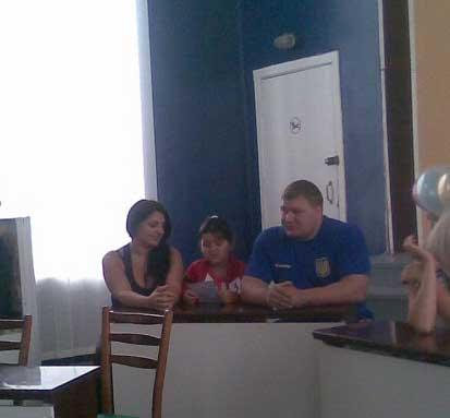 Виктор Тесцов и его семья