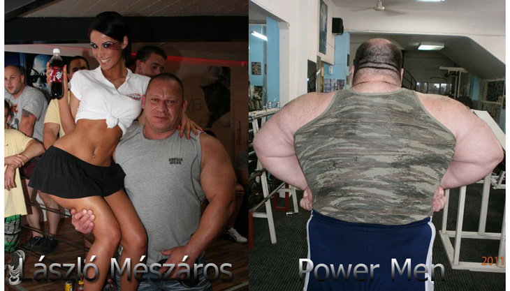 Lászlo Mészáros vs POWER MEN - Who is stronger?