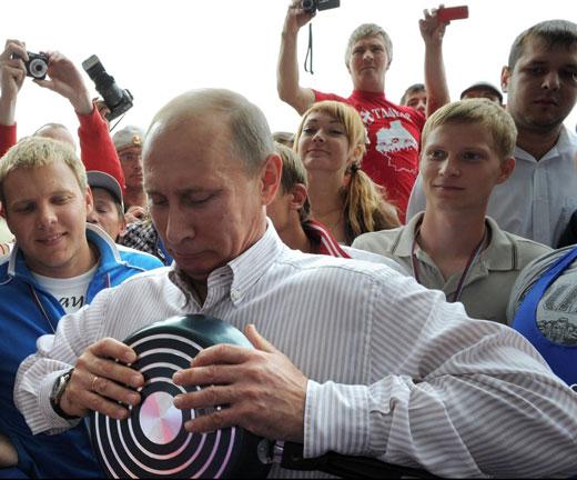 Владимир Владимирович дал копоти!