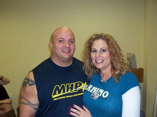 Луандо и его жена