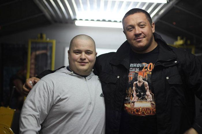 На фото: Кирилл Сапожников и Михаил Кокляев