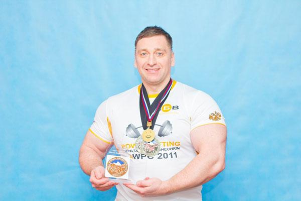 Кошечкин Константин Чемпион Мира AWPC 2011