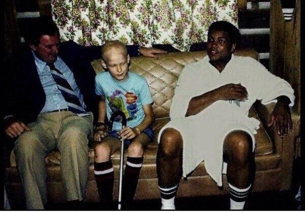 Моххамед и мальчик больной раком