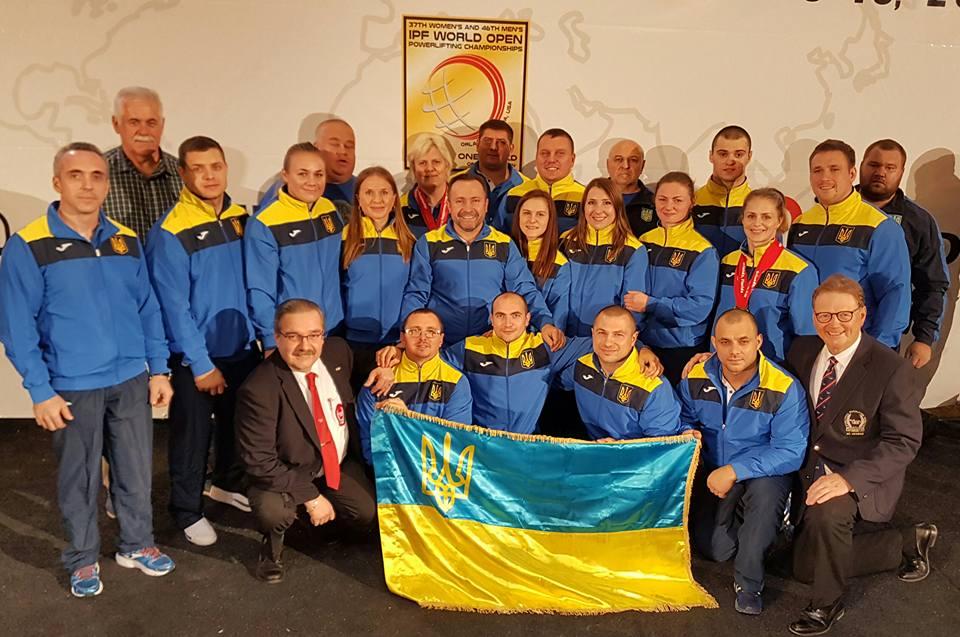 Збірна команда України з пауерліфтингу - чемпіон світу 2016 року!!!